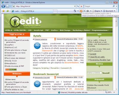 Internet Explorer 7 Autodiscovery