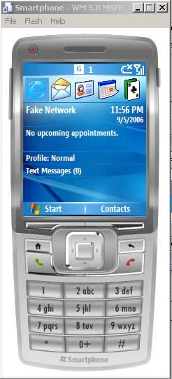 Interfaccia smartphone