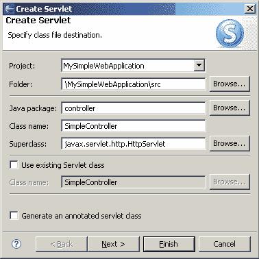 Creare una Servlet