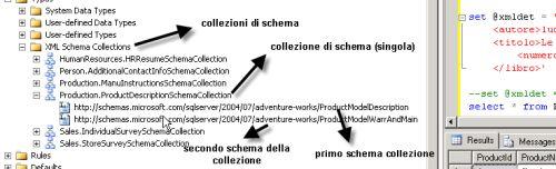 Archivio delle collezioni di schema di SQL Server 2005