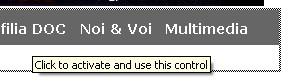 Figura che illustra un controllo ActiveX bloccato