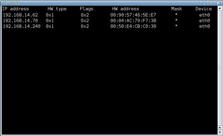 ARP in un sistema Linux