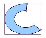 Forma ovale primitivo
