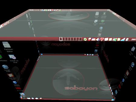 Effetti desktop di Sabayon