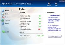 Quick Heal AntiVirus Plus 2008