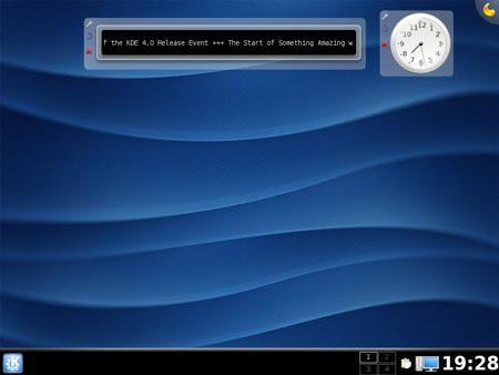 KDE 4 Plasma su Kubuntu