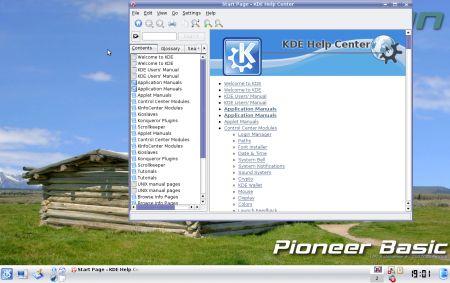 L'help center di KDE