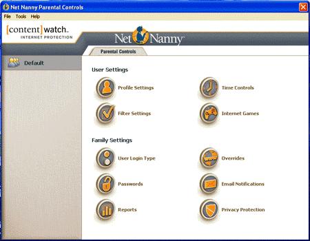 l'interfaccia di NetNayy