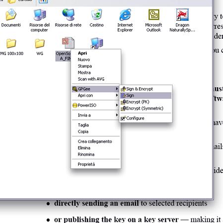 La crittografia di file