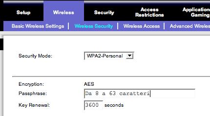 La protezione WPA2