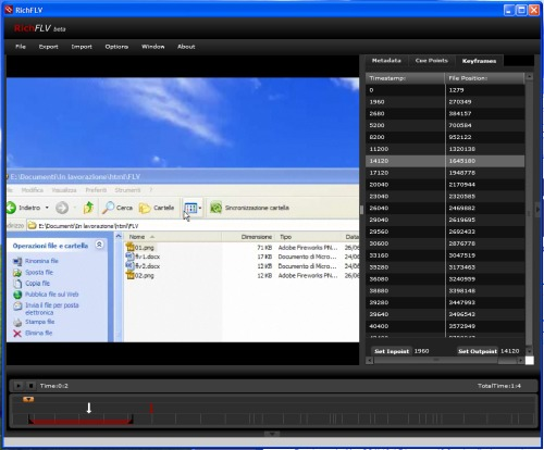 Screen di RichFLV