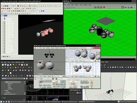 Il Desktop di ArtistX