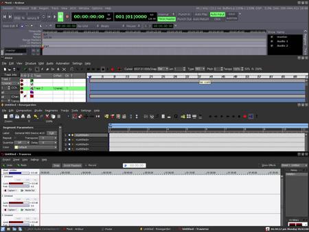 Editing audio con ArtistX