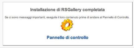 Installazione di RSGallery2