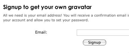 Registriamoci a Gravatar