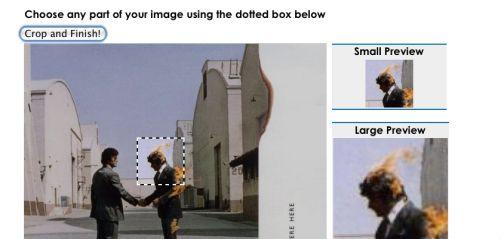 Selezioniamo una porzione di immagine