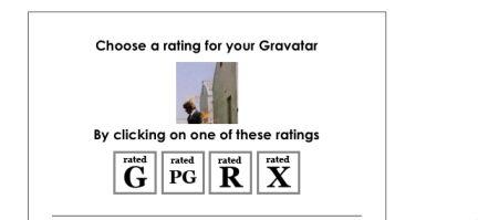 Impostiamo il rating dell'immagine