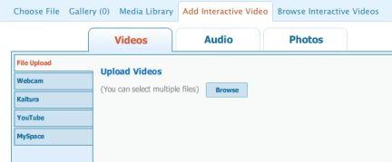 Si possono registrare video con la webcam