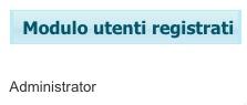 Il nome completo dell'utente registrato