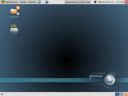Il Desktop di gNewSense