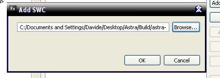 Screenshot delle opzioni