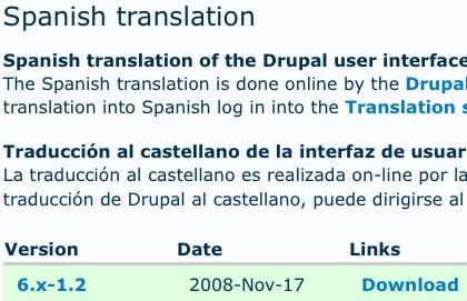 La traduzione spagnola