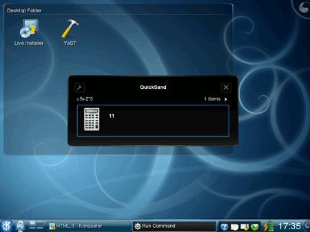 KRunner in KDE 4.2