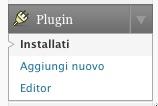 Aggiungi nuovo plugin