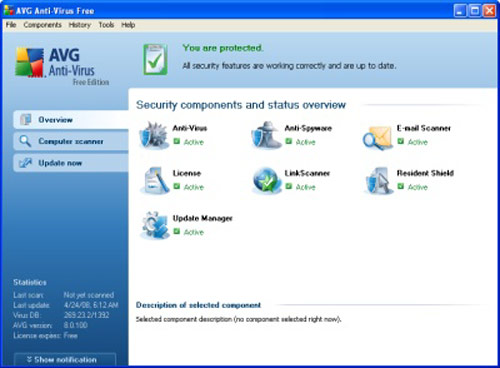 AVG Free Edition - Grisoft