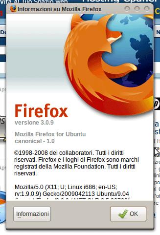 Software aggiornati: Firefox