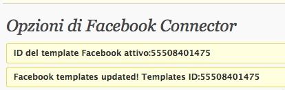 template facebook