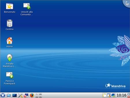 Mandriva 2009.1 con KDE