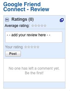 Google Friend Connect Review