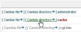 JoomlaPack esclusione contenuto directory