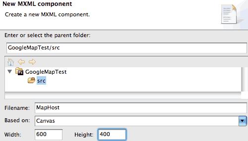 Creare un componente MXML