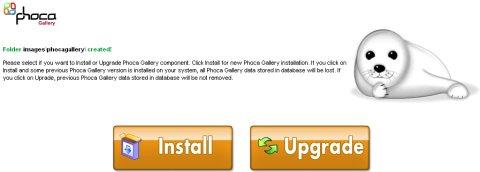 Installazione Phoca Gallery