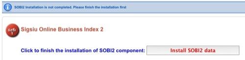 installiamo SOBI2 data