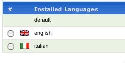 SOBI2 language manager