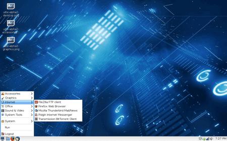 il desktop di U-lite