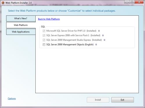 Installiamo SQL Server Express 2008