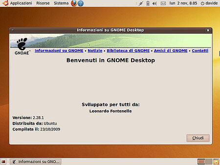 Gnome 2.28