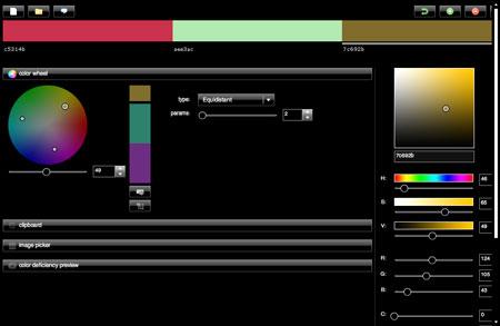 Toucan Colour Editor