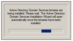 Notifica dell'installazione dei file binari
