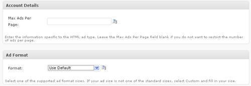 Max Ads Per Page