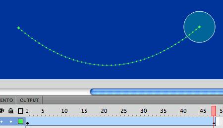Creare una traiettoria curva