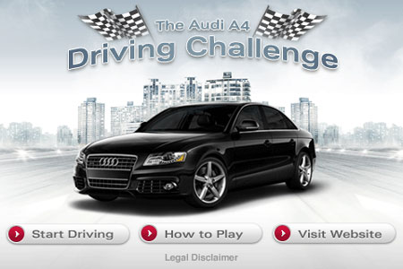 The Audi A4 Driving Challenge
