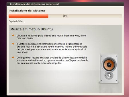 L'installazione di Ubuntu 10.04 Beta1