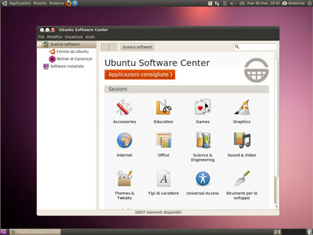 L'Ubuntu Software Center