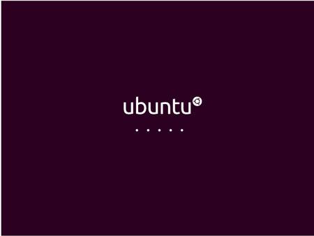 La schermata di avvio di Ubuntu 10.04