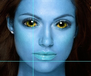 Stesura colore bianco sugli occhi